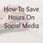 save hours