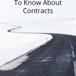 What Bloggers Need To Know About Contracts