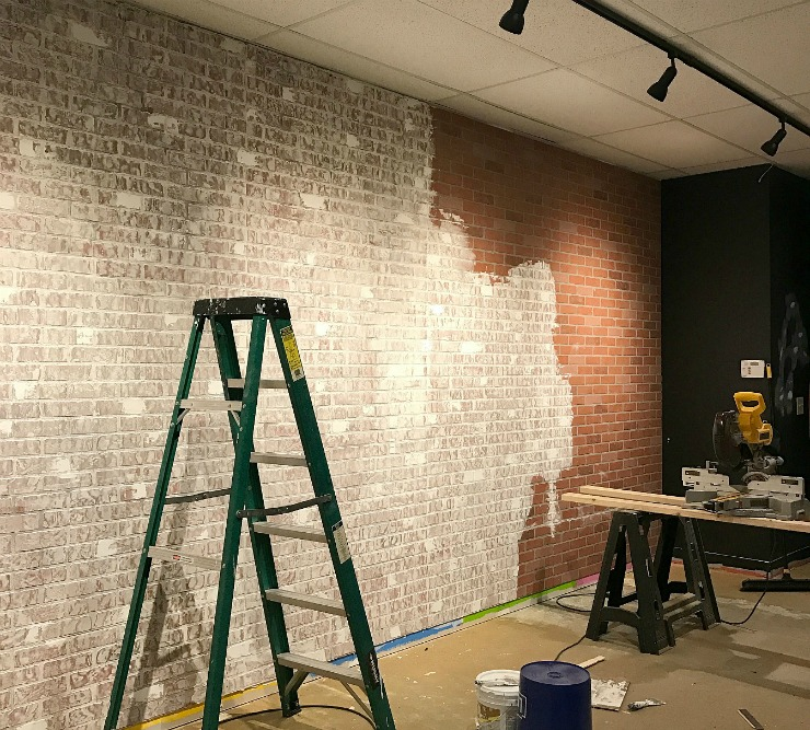 This Easy DIY Project Will Give You The Look Of An Old, Exposed Brick Wall
