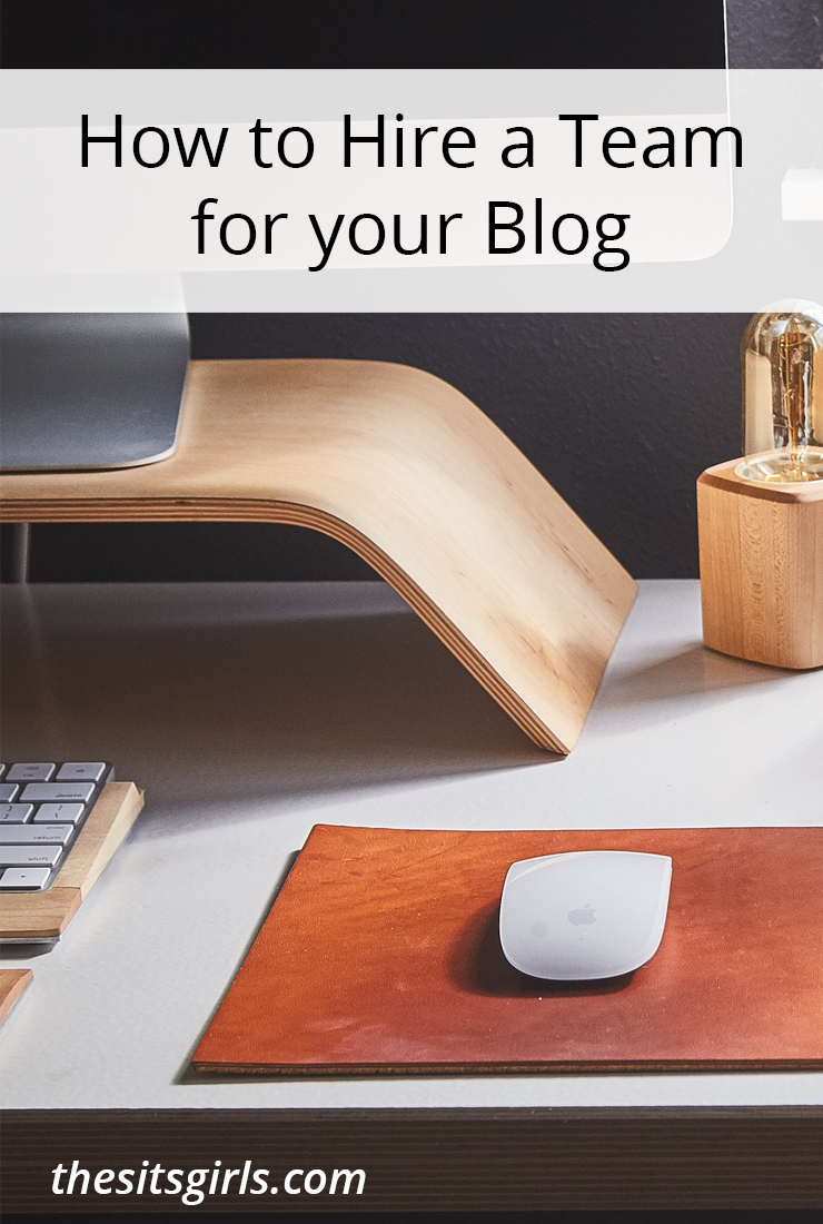 If you are ready to take your blog to the next level, it may be time to hire a team. Includes printable independent contractor hiring checklist.