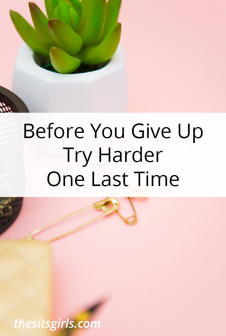 Encouragement for those days when you want to give up or feel too scared to take the next step on your path to success.