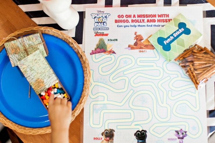 Puppy Dog Pals Maze