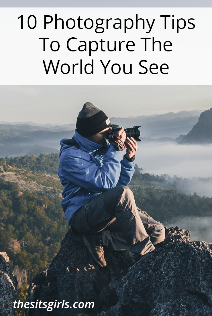 When you pull out your camera to capture the world your eyes see, are you sometimes disappointed in your photograph? These 10 photography tips will help!