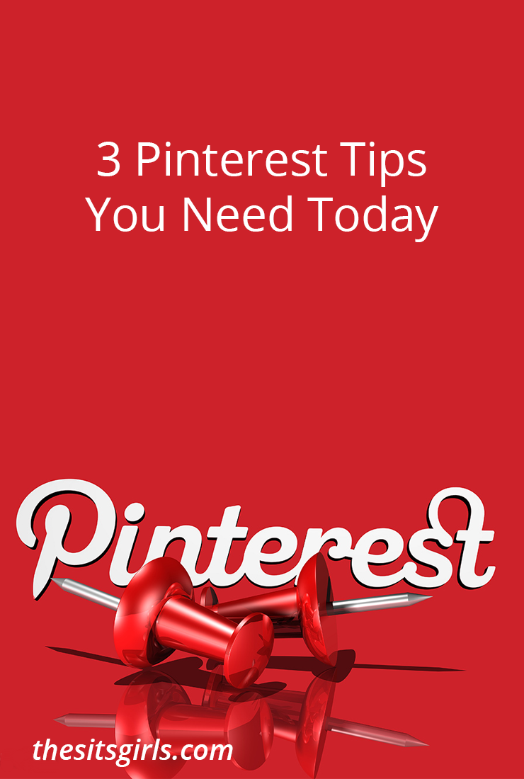 If your Pinterest strategy isn't working, these three Pinterest tips will help you to drive traffic to your website.