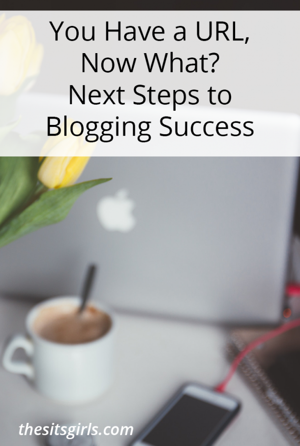 You Have A URL, Now What? Next Steps to Blogging Success