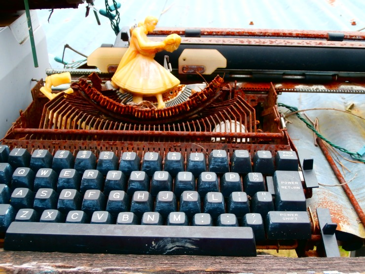 old typewriter | writing in first person