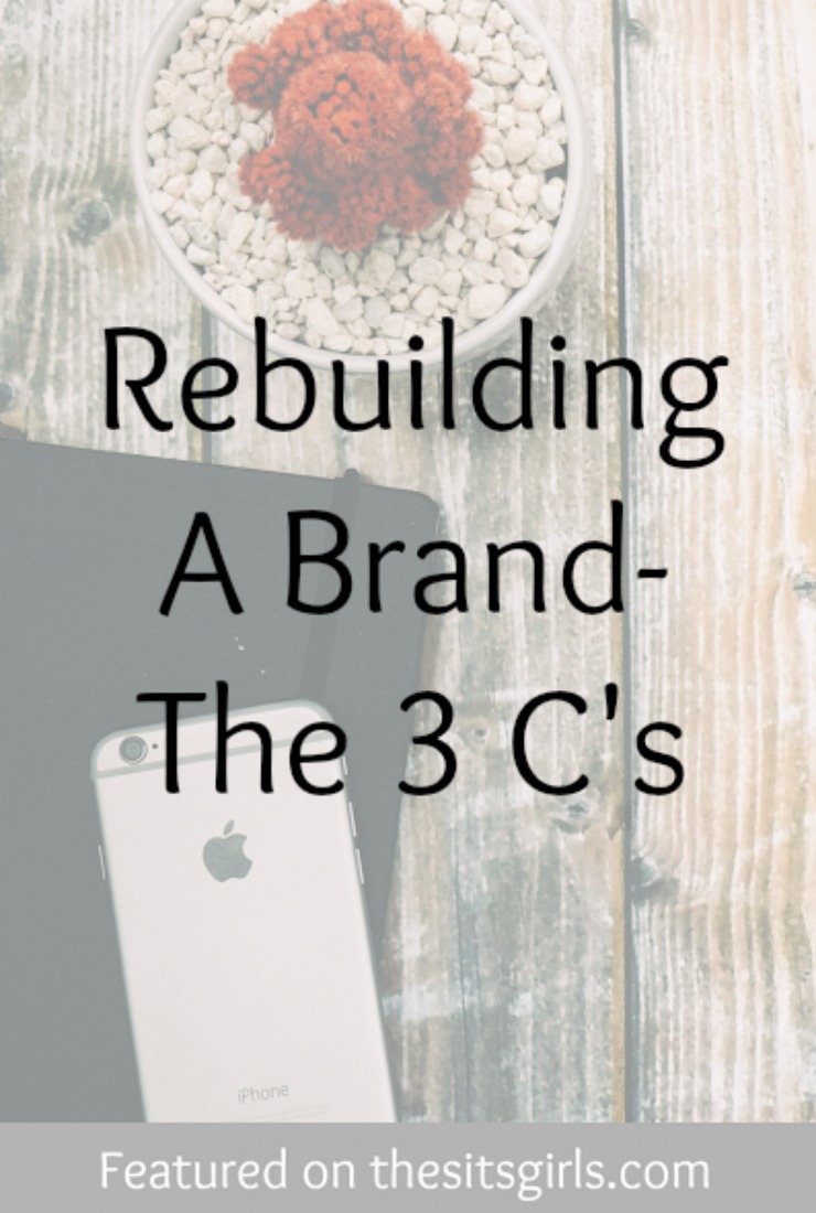 rebuilding a brand