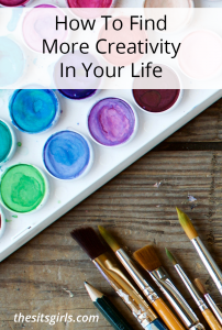 There are opportunities to be creative in almost every decision you make, use these tips to recognize these opportunities to find more creativity in your life as they cross your path!