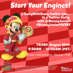 Join Us for a Mickey and The Roadster Racers Twitter Party this FRiYAY!