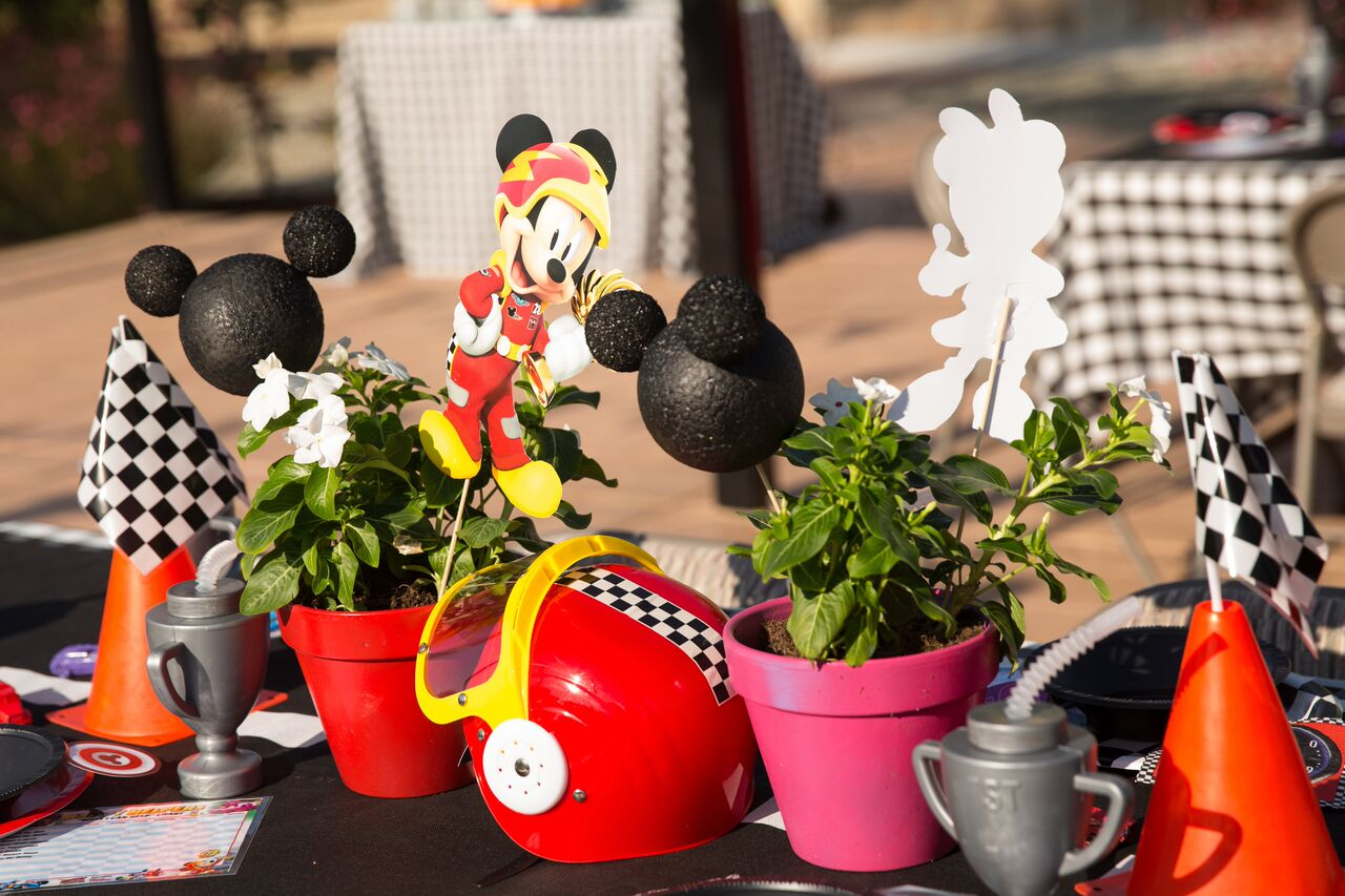 These pots added the perfect whimsy!