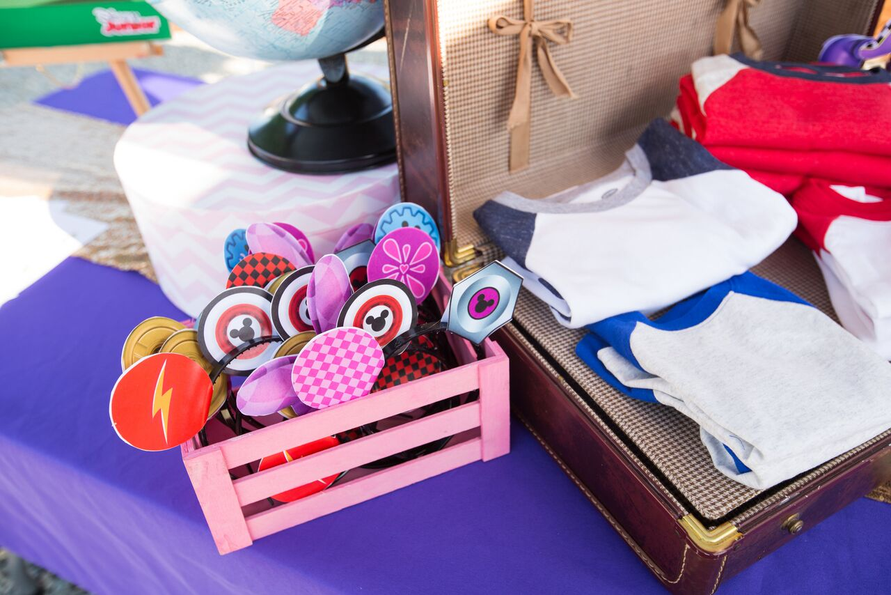 These Mickey ears are just what your Mickey and the Roadster Racers party needs!