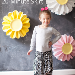 Make this skirt in just 20 minutes!