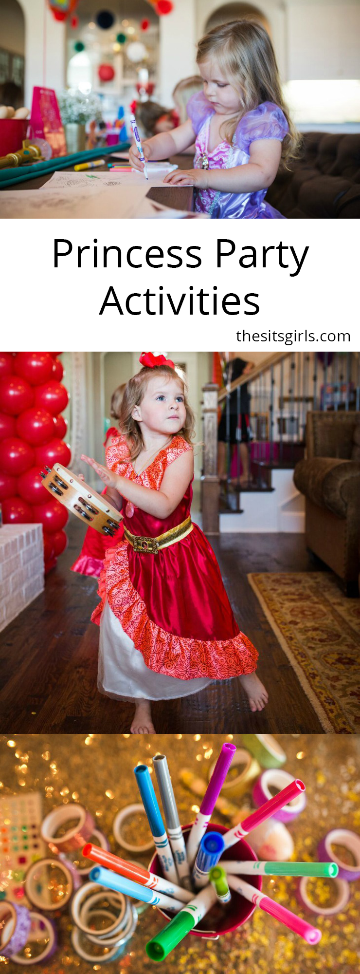 To throw the perfect princess party with Disney Junior's Elena and Sofia, you need great princess party activities. Great ideas here.