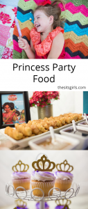 To throw the perfect princess party with Disney Junior's Elena and Sofia, you have to serve your guests delicious princess party food. Great ideas here.