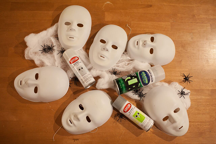 Transform plastic masks into something AMAZING!