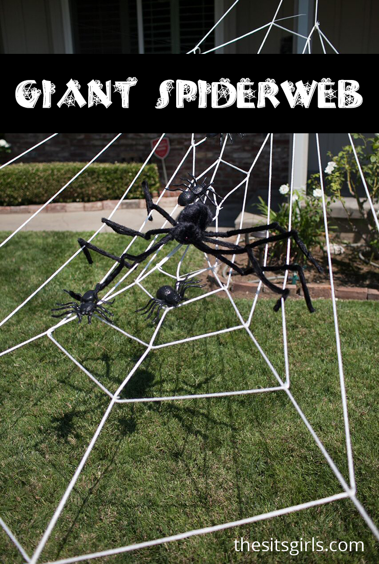 Giant Spider Web Halloween Decoration | Halloween Spider Decor