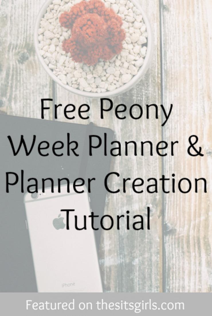 planner creation