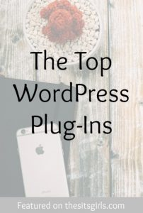 Top WordPress Plug-Ins