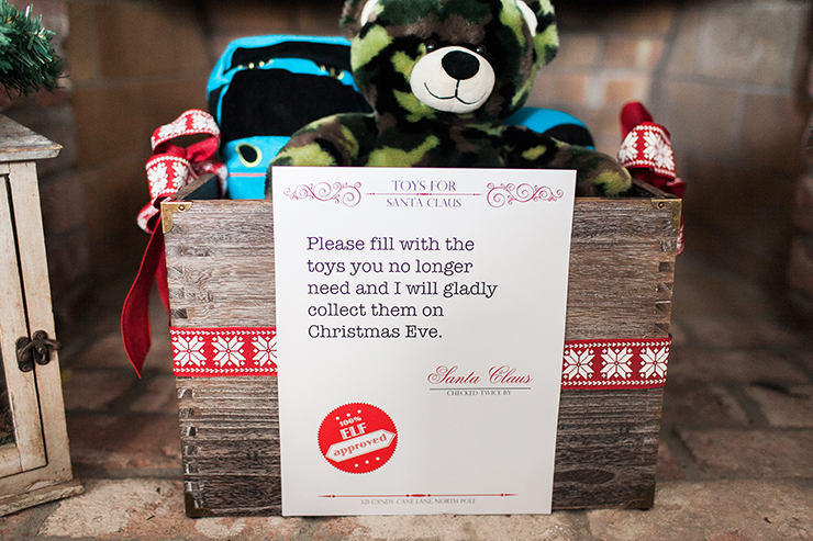 Help your kids donate the toys they never use anymore!