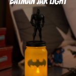 Batman Jar Light