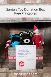 Tackle toys the easy way with a Santa Toy Donation Box!