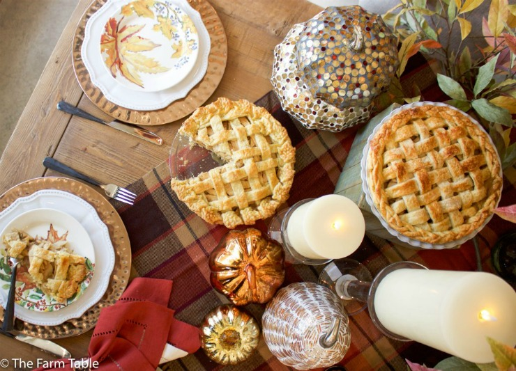 Fall Pie | Maple Bourbon Apple Pie Recipe