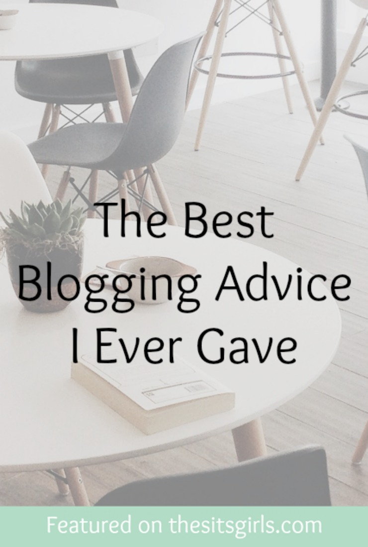 best blogging advice