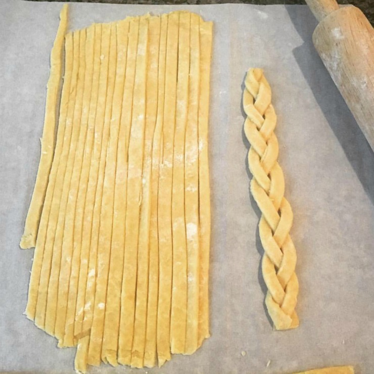 Pie Crust Braids