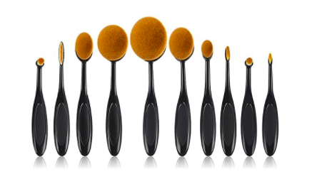 beauty kate oval makeup brush