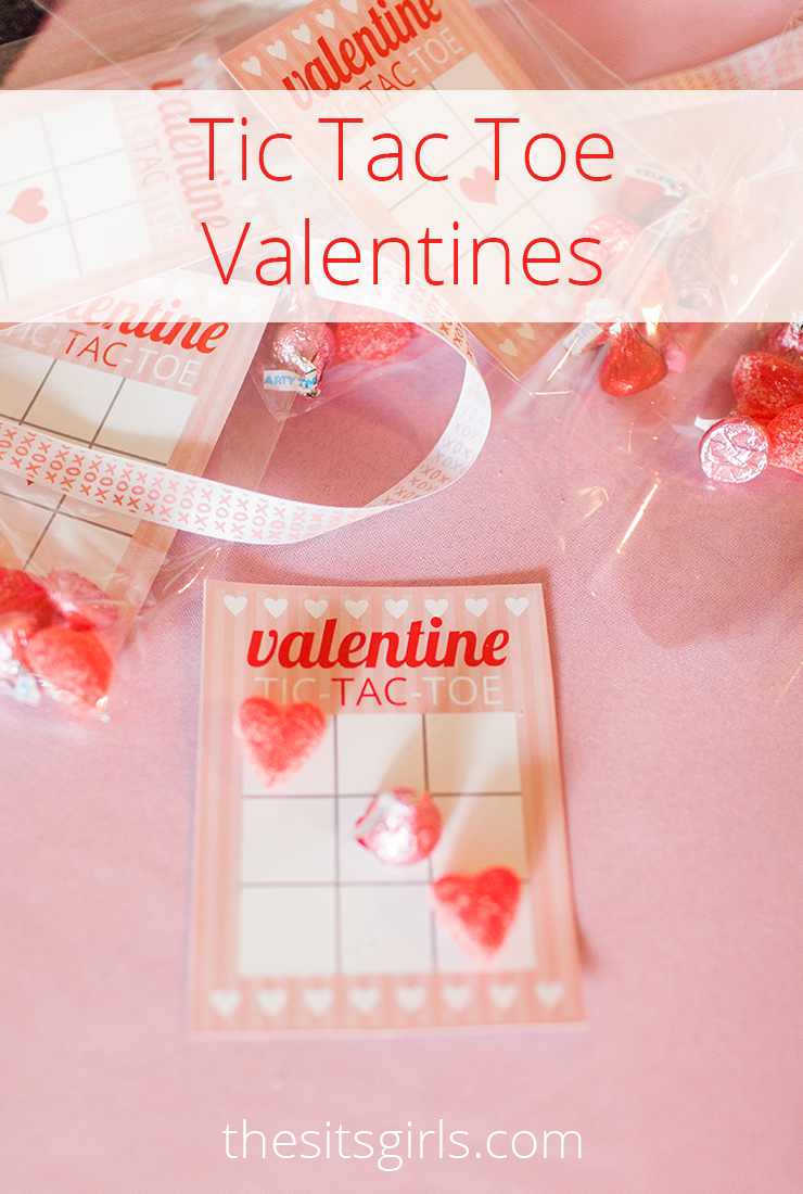 Tic Tac Toe cards are the best Valentine's Day treats!