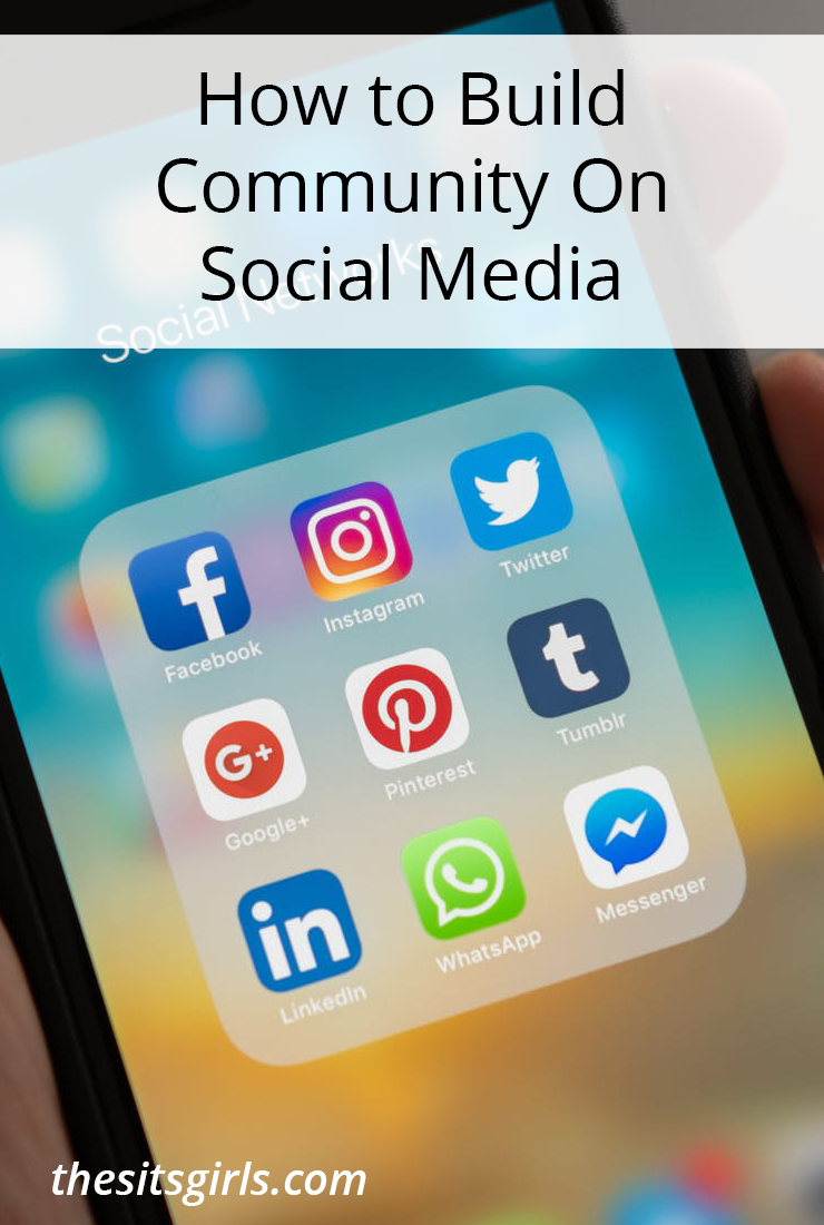 Social media and community go together, and if you want to grow your social media presence, you need to build community. Includes three places you can build community and three tips keep it growing!