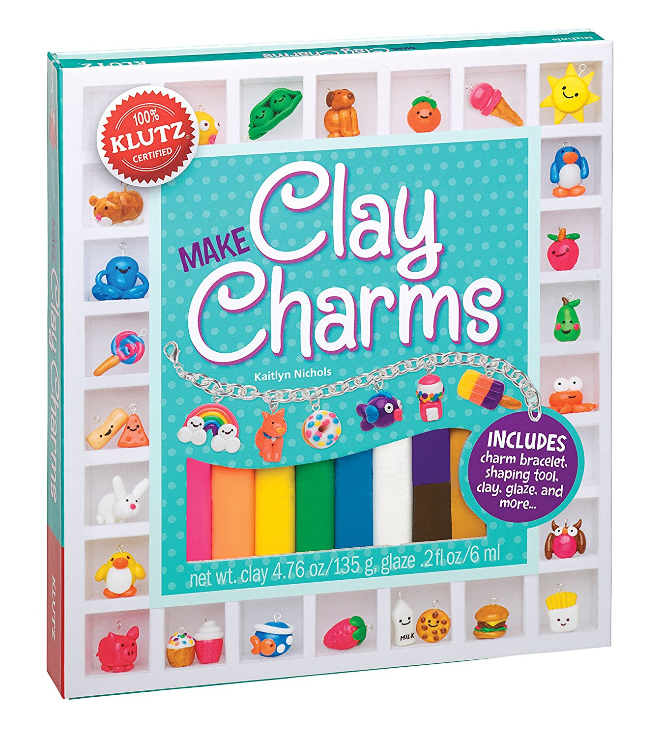 DIY Clay Charms Kit For Kids