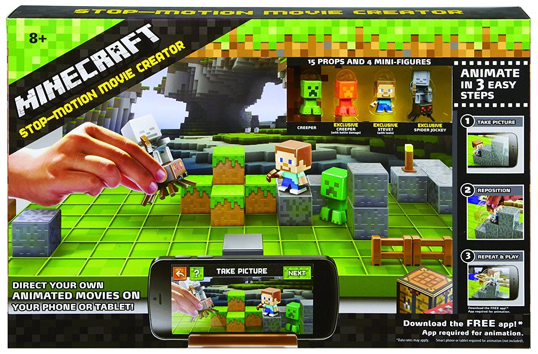 Minecraft Stop-Motion Animation Creator Kit