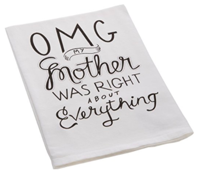 mothers day tea towel