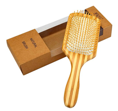 Mokale Natural Bamboo Paddle Hair Brush