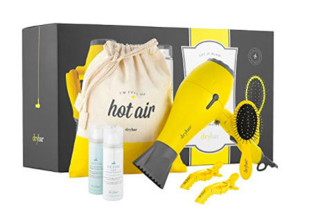Let It Blow! Dry Bar Buttercup Travel Blow Dryer set