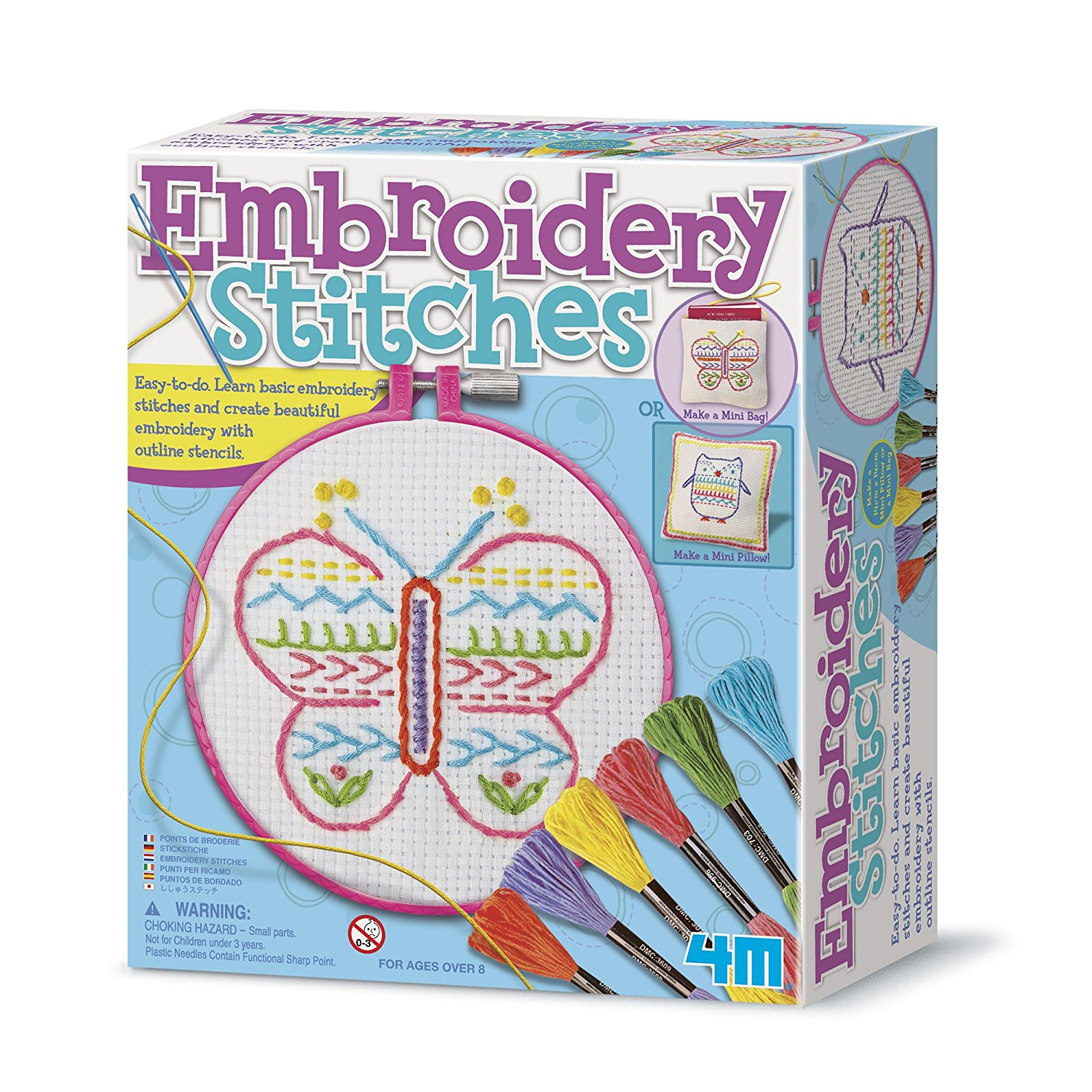 Embroidery Stitches Beginner Kit