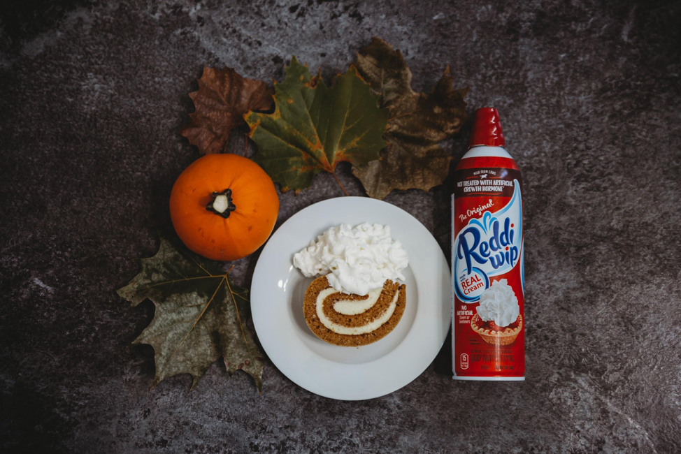 Pumpkin dessert treat with Reddi Whip