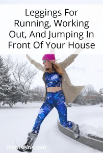 Leggings For Running, Working Out, And Jumping In Front Of Your House