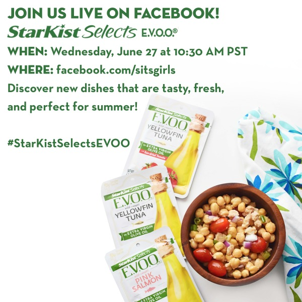 Join Us for the StarKist Selects E.V.O.O. Twitter Party 6/28th at 10:00-10:30 PST- prizes to be won! AD