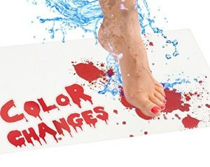 Bloody Bathmat Halloween Ideas