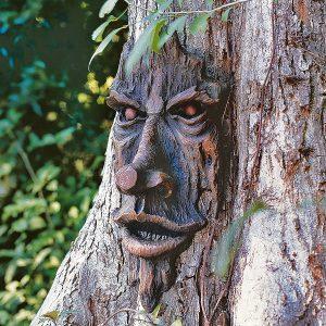 Spooky Tree Faces