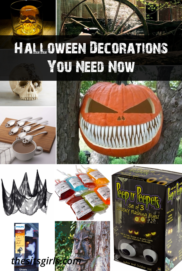 Get your Halloween on with some of our favorite Halloween ideas for must-have decorations - perfect for your parties and everyday decorations!
