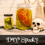 DIY Halloween Decorations: Spooky Specimen Jars