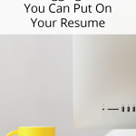6 Blogging Skills You Can Put On Your Resume