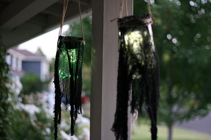 Halloween DIY Graveyard Lanterns