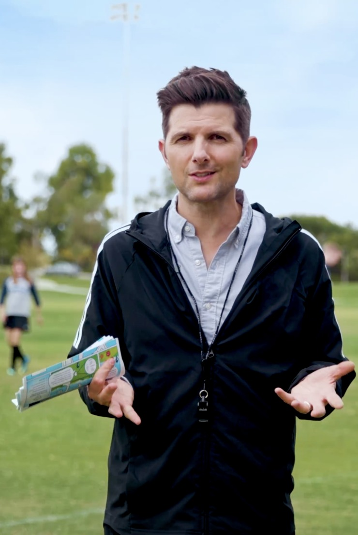 Adam Scott with Stonyfield