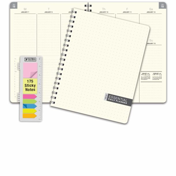 Essential Monthly and Weekly Planner