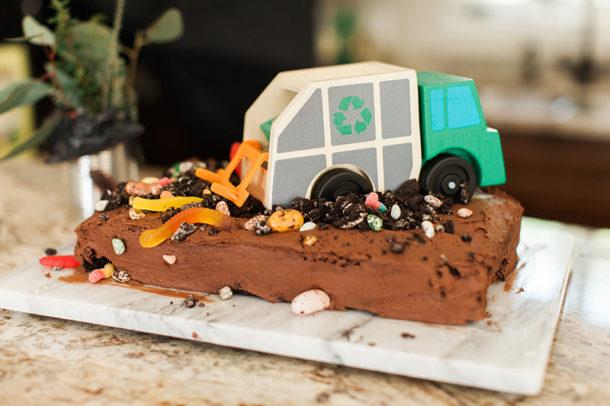 trash bash cake