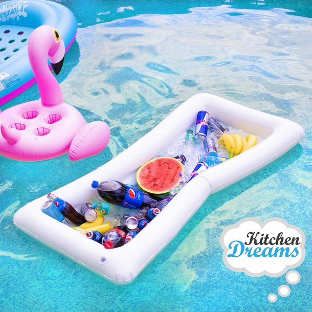 inflatable pool serving bar